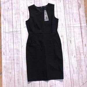 The Lighthouse by Lands End Black Dress 4P